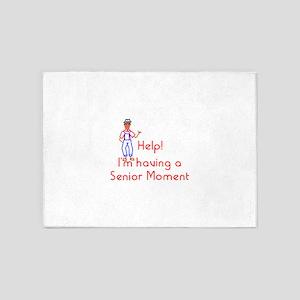 Senior Moment 5'x7'Area Rug