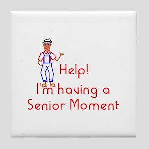 Senior Moment Tile Coaster
