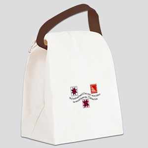 No More Fabric Canvas Lunch Bag