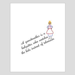 Grandma Babysitter Posters