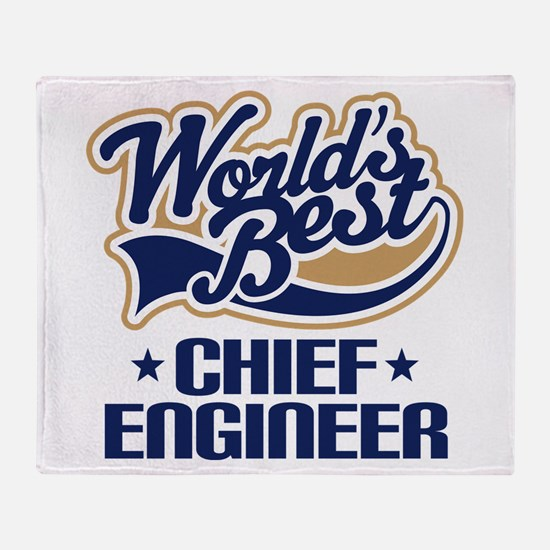 Chief Engineer Throw Blanket