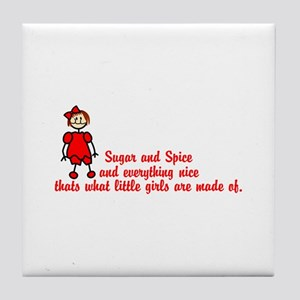 Sugar & Spice Tile Coaster