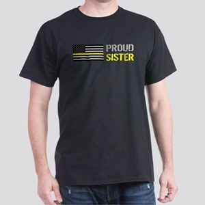 U.S. Flag Yellow Line: Proud T-Shirt