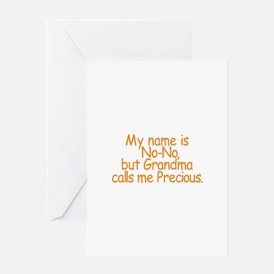 No-No Greeting Cards