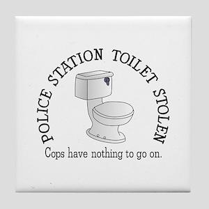 Toilet Stolen Tile Coaster