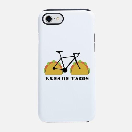 Runs On Tacos iPhone 7 Tough Case