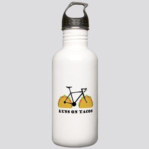 Runs On Tacos Stainless Water Bottle 1.0L