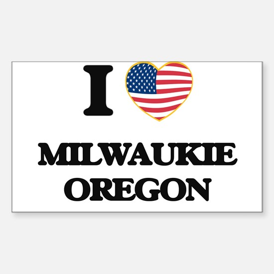 I love Milwaukie Oregon Decal