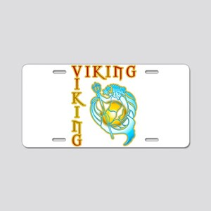 Viking Sea Aluminum License Plate