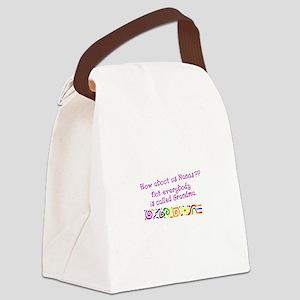 Nanas Grandmas Canvas Lunch Bag