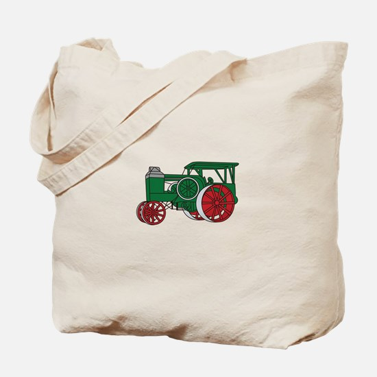 Pulling Tractor Tote Bag