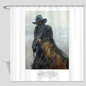 Out Of Cheyenne_ Shower Curtain