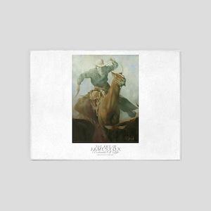 The Rustler,James Fox-poster-2014 5'x7'Area Rug