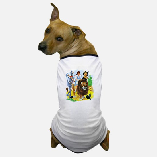 Wizard of Oz - Follow the Yellow Brick Dog T-Shirt