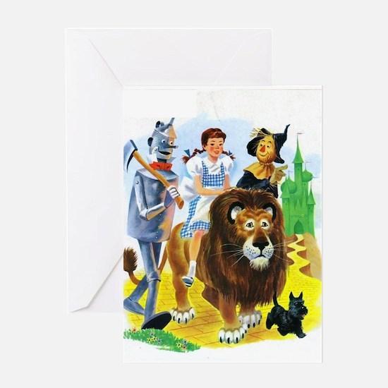 Wizard of Oz - Follow the Yellow Bri Greeting Card