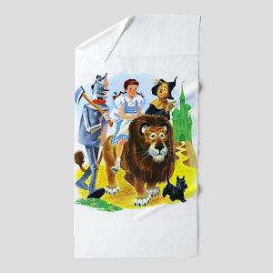 Wizard of Oz - Follow the Yellow Brick Beach Towel
