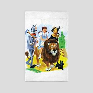 Wizard of Oz - Follow the Yellow Brick Ro Area Rug