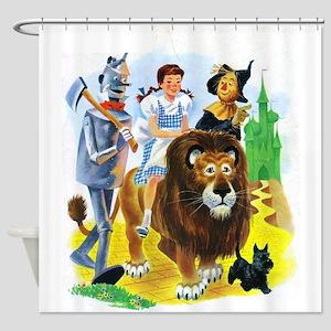 Wizard Oz Shower Curtains