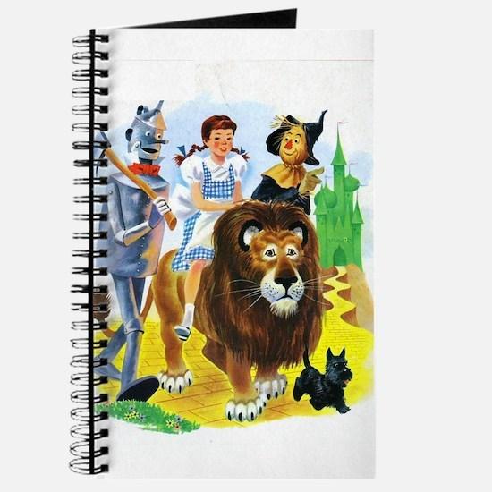 Wizard of Oz - Follow the Yellow Brick Roa Journal
