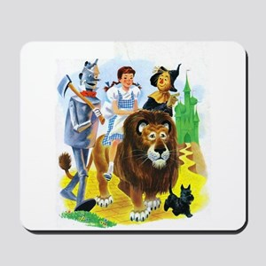 Wizard of Oz - Follow the Yellow Brick R Mousepad