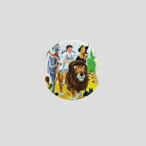 Wizard of Oz - Follow the Yellow Brick Mini Button