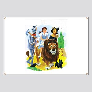 Wizard of Oz - Follow the Yellow Brick Road Banner