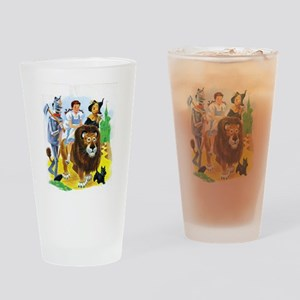 Wizard of Oz - Follow the Yellow Br Drinking Glass