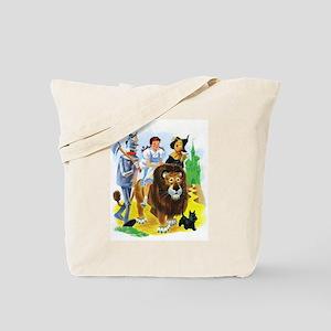 Wizard of Oz - Follow the Yellow Brick Ro Tote Bag