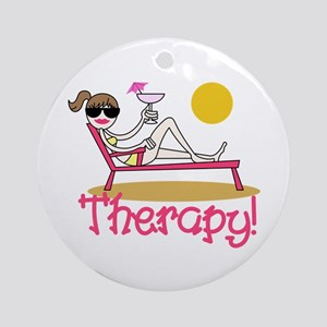 Therapy Ornament (Round)