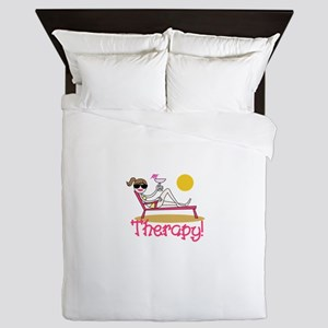 Therapy Queen Duvet