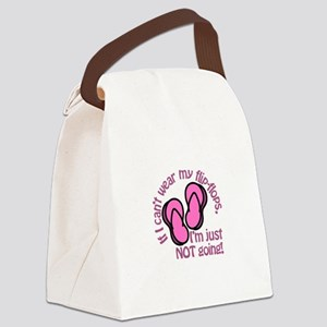 Im Just Not Going Canvas Lunch Bag