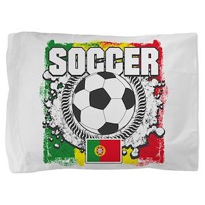 Soccer Portugal Pillow Sham