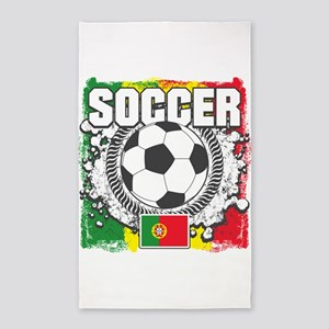 Soccer Portugal Area Rug