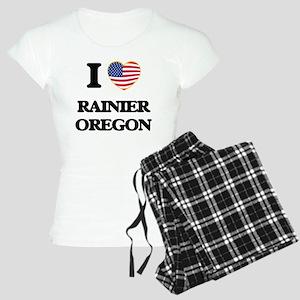 I love Rainier Oregon Women's Light Pajamas