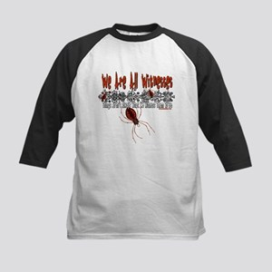 We Are All Witnesses Kids Baseball Jersey