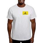 Gadsden Flag Grey T-Shirt