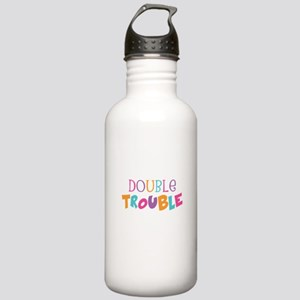 Double Trouble Girls Stainless Water Bottle 1.0L