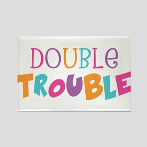 Double Trouble Girls Magnets