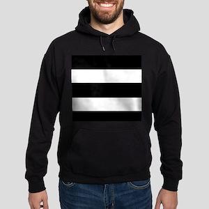 black stripped-2 Hoodie (dark)