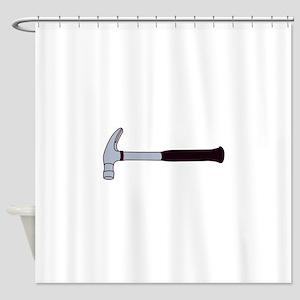 Claw Hammer Shower Curtain