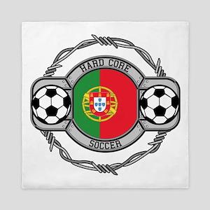 Portugal Soccer Queen Duvet