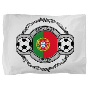 Portugal Soccer Pillow Sham