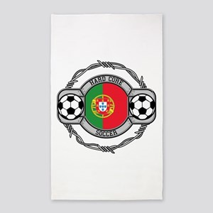 Portugal Soccer Area Rug