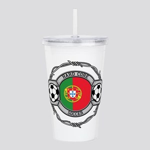 Portugal Soccer Acrylic Double-wall Tumbler