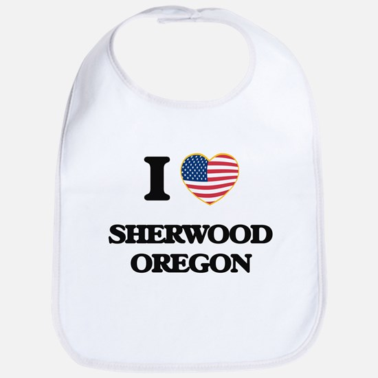 I love Sherwood Oregon Bib