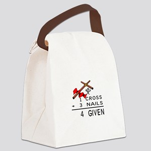 4 Given Canvas Lunch Bag