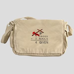 4 Given Messenger Bag