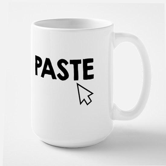 Paste Black Mugs