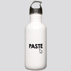 Paste Black Stainless Water Bottle 1.0L