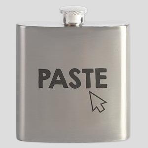 Paste Black Flask